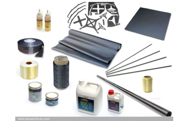 Carbon Fiber Laminating Starter Kit