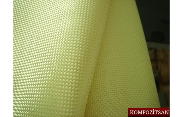 Aramid Fiber Fabric 61gr/m2 Plain