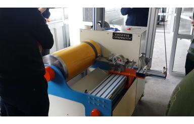 Drump Tipi Prepreg Üretim Makinesi